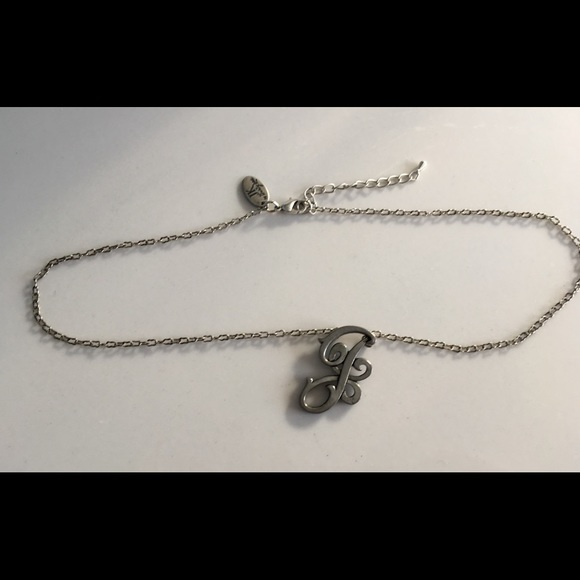 52 off JK Jewelry JK Designs by Thirty One Silver Initial